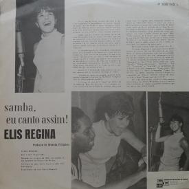 Elis Regina - Samba Eu Canto Assim (1965) b