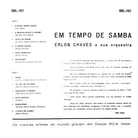 Erlon Chaves - Em Tempo de Samba (1961) b