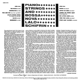 Lalo Schifrin - Piano, Strings and Bossa Nova (1962) b