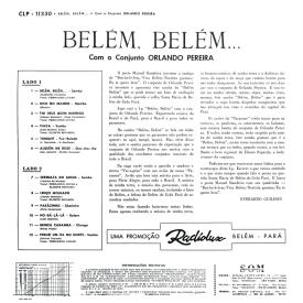 Orlando Pereira - Bélem, Bélem (1963) b