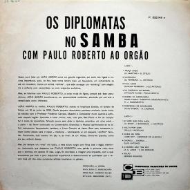 Os Diplomatas no Samba & Paulo Roberto - Os Diplomatas no Samba com Paulo Roberto ao Orgão (1963) b