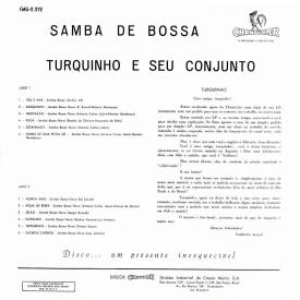 Turquinho - Samba de Bossa (1963) b