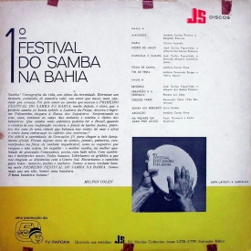 Various - I Festival do Samba na Bahia (1967) b