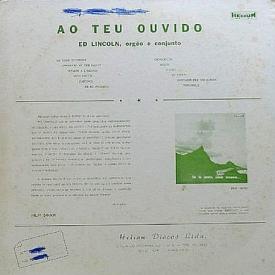 Ed Lincoln - Ao Teu Ouvindo (1958) b