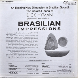 Dick Hyman - Brazilian Impressions (1967) b