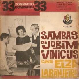 Elza Laranjeira - EP Só Danço Samba (1962) a