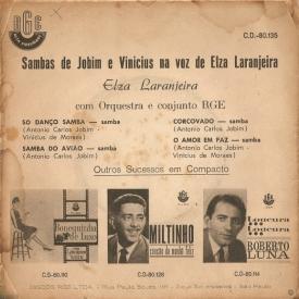 Elza Laranjeira - EP Só Danço Samba (1962) b