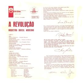 Lyrio Panicali aka Orquestra Brasil Moderno - A Revolução (1963) b