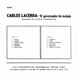 Carlos Lacerda - O Governador do Teclado Interpreta Djalma Ferreira (1961) a