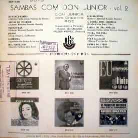 Don Junior - Sambas Nº 2 (1) – Don Júnior e Seu Sax Maravilhoso (b)