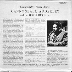Cannonball Adderley - Cannonball's Bossa Nova (1962) b