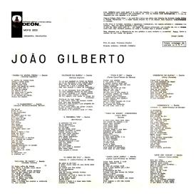 João Gilberto - João Gilberto (1961) b