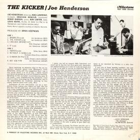 Joe Henderson - The Kicker (1967) b