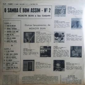 Moacyr Silva - Samba é Bom Assim No 2 (1965) b