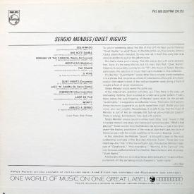Sergio Mendes - Quiet Nights (1963-66) b