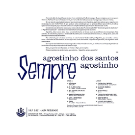 Agostinho dos Santos - Agostinho, Sempre Agostinho (1960) b