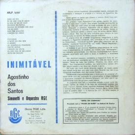 Agostinho dos Santos - Inimitável (1959) b