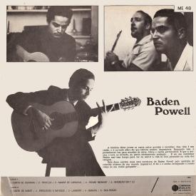 Baden Powell - Baden (1968) b