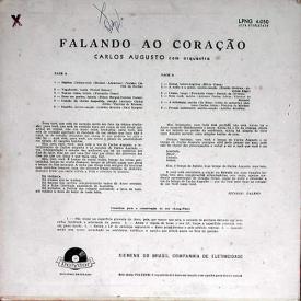 Carlos Augusto - Falando ao Coração (1959) b