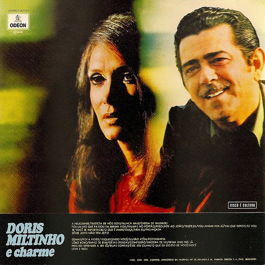 Dóris Monteiro - Miltinho - Doris - Miltinho E Charme Vol. 4