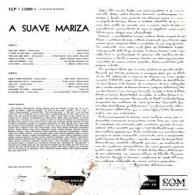 Marisa Gata Mansa - A Suave Mariza (1959) b