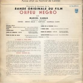 Orfeu Negro OST (France 1959) b