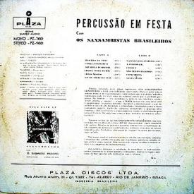 Os Saxsambistas Brasileiros - Percussão em Festa (1961) b