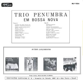 Trio Penumbra - Trio Penumbra em Bossa Nova (1963) b