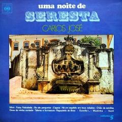 Carlos José - Uma Noite de Seresta – Vol. 5 (1970) a
