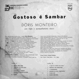 Dóris Monteiro - Gostoso é Sambar (1963) b