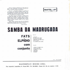 Fats Elpídio - Samba ba Madrugada (1962) b