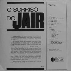 Jair Rodrigues - O Sorriso do Jair (1966) b