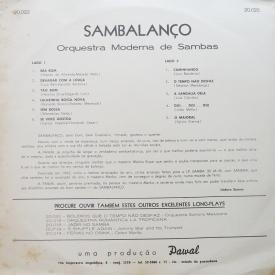Orquestra Moderna de Sambas - Sambalanço (1963) b