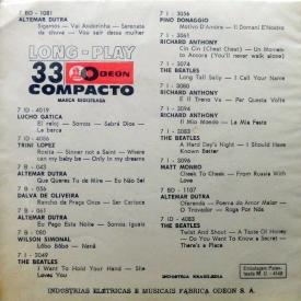 Pery Ribeiro & Milton Banana Trio - Pery Ribeiro com Milton Banan Trio (1965) b