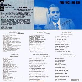 Dick Farney - Canções Para a Noite de Meu Bem (1960) b
