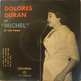 Dolores Duran - Dolores Duran no 'Michel' de São Paulo (1959) a