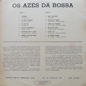 O Azes da Bossa - Sambas em Duas Bossas (1964) b