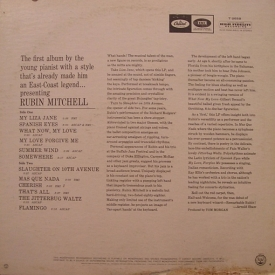 Rubin Mitchell - Presenting Rubin Mitchell (1966) b