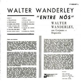Walter Wanderley - Entre Nós (1966) b