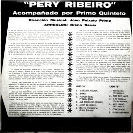 Pery Ribeiro & Primo Quinteto - Pery (1968) b