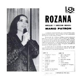 Rozana & Breno Sauer Quarteto - Rozana (1966) b
