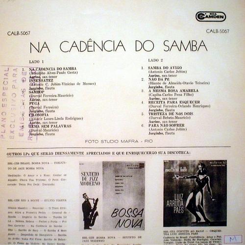 Aurino & Jorginho — Na Cadéncia do Samba (b)