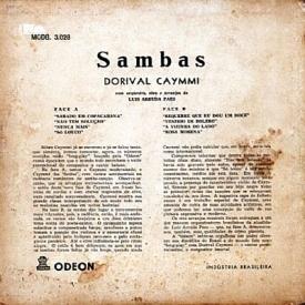 Dorival Caymmi - Sambas de Caymmi (1955) b