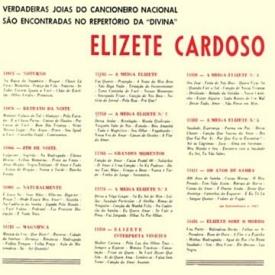 Elizeth Cardoso - Elizete Interpreta Vinícius (1963) b