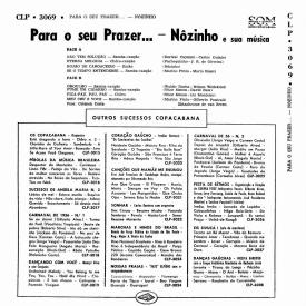 Nôzinho - Para o Seu Prazer… Nôzinho e Sua Música (1956) b
