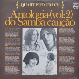 Quarteto em Cy - Antologia do Samba Canção Vol. 2 (1976) a