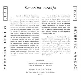 Severino Araújo - Dançando com Severino Araújo e Sua Orquestra Tabajara (1954) b