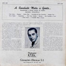 Tito Madi - A Saudade Mata A Gente (1958) b