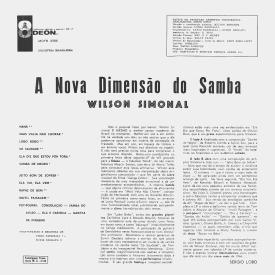 Wilson Simonal - A Nova Dimensão do Samba (1964) b