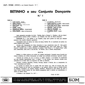Betinho - Dançante No. 1 (1959) b